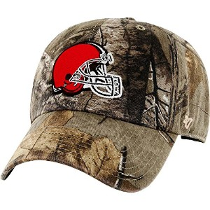 ' 47Brand Cleveland Browns NFLリアルツリーカモClean Upキャップ