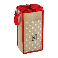 7 Large Reusable Grocery Shopping Bags in 1 Premium Compact Organizer. Our Stylish and Durable Eco...