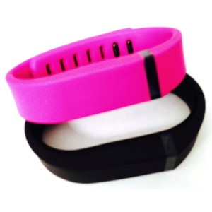 ! Small S 1pc Black 1pc Purple / Pink Replacement Bands + 1pc Free Small Grey Band With Clasp for...