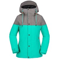 Volcom Womens Bolt Insulated Jacket カラー: グリーン