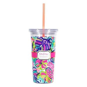 Lilly Pulitzer Tumbler with Straw – エキゾチックガーデン