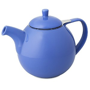 FORLIFEカーブ45-ounce Teapot with Infuser ブルー 388-BLU