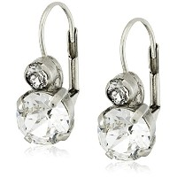 Sorrelli Round Crystal french-wireドロップイヤリング