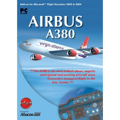 Airbus A380 for Microsoft Flight Simulator 2004 & 2002 (輸入版)