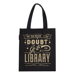 【Out of Print】 Hermione Granger / When in doubt, go to the library Tote Bag