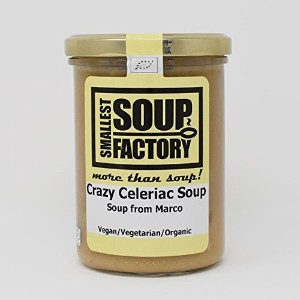 Smallest Soup Factory ココナッツミルクの有機濃厚根セロリスープ 400ml