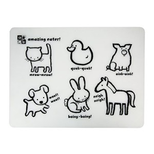 Amazing Baby Silicon Placemat, Animals by Kids Preferred