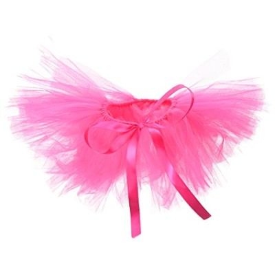PAWPATU Tulle Tutu for Dogs or Cats, Large, Hot Pink by Pawpatu