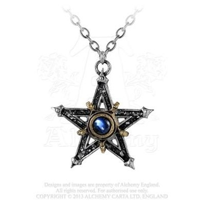 Medieval Pentangleペンダントby Alchemy Gothic , England