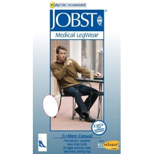 Jobst Men's Moderate Casual Knee High Support Sock by Jobst