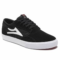 (ラカイ) LAKAI LAKAI Howard Select MID SHOE BLACK SUEDE ラカイ スケート シューズ 10(28cm)