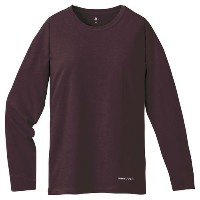 mont-bell(モンベル) コットンL/S T OPロゴ W'S ココア XL 2104448