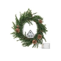 【25%OFF】Wreath-small House M LEDライト リース n/a ゲーム・おもちゃ > その他