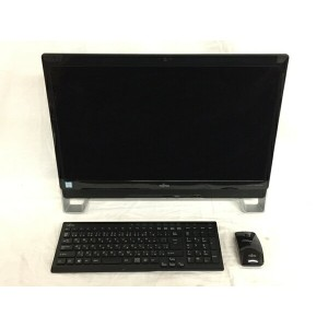 【中古】 富士通 ESPRIMO FH77/XD FMVF77XDB 一体型 デスクトップ PC 23型 i7 6700T 2.8GHz 8GB HDD2TB Win10 Home 64bit...