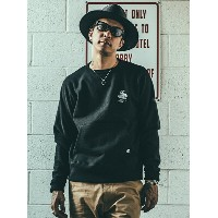 CRIMIE ARMY CREW NECK SWEAT PARKA ガーデン カットソー【送料無料】