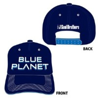 """【CAP】 三代目 J Soul Brothers LIVE TOUR 2015 """"BLUE PLANET""""ツアーグッズ"""