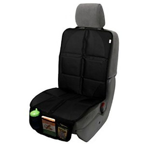 Baby Caboodle Seat Protector for Under Car Seat - Covers Entire Seat - Premium Durable Construction...