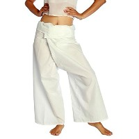 Mangos Teen Pants Yoga Thai Fisherman for Men, Women and Pregnant or Pregnancy Trousers Fisherman...