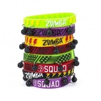 【ズンバ】 Zumba Da Basement Party Rubber Bracelets 8本セット 【並行輸入品】