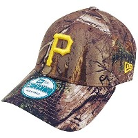 Pittsburgh Pirates The Leagueリアルツリーカモ9FORTY Adjustable Hat /キャップ