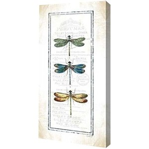 "Dragonfly by Jennifer Pugh – ギャラリーWrapped Gicleeキャンバスアートプリント – Ready To Hang 6"" x 12"" GW-POD-48..."