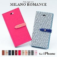 iPhoneX iPhone8 スマホケース 手帳型ケース iPhone8 Plus iPhone7 iPhone6 6s iPhone5 5s SE romance&milano case 手帳型...