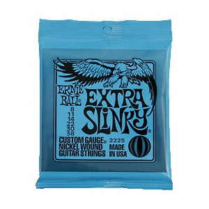 ERNIE BALL / 2225 Extra Slinky 1セット アーニーボール エレキギター弦【心斎橋店】