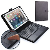 Samsung Galaxy Tab 10.1N, LTE キーボード ケース COOPER TOUCHPAD EXECUTIVE 2-in-1 ワイヤレス Bluetooth キーボード マウス...