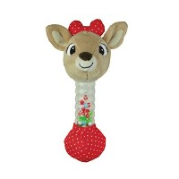 Kids Preferred Baby's First Christmas Rudoph Rainstick Rattle - Clarice by Rudolph