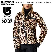 BURTON(バートン) 半額!スノーボード ウェア バートン L.A.M.B. x Burton The Ramone Moto JKT/Photo Cheetah(15-16 Burton...