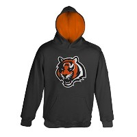 "Cincinnati Bengals Youth Jeunes NFL ""Primary"" Pullover Hooded SweatShirt Chemise"