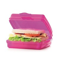 Tupperware Sandwich Keeper in Electricピンク