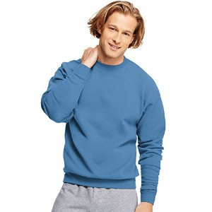Hanes P160 Comfort Blend Ecosmart Crew Sweatshirt Size - Small - Denim Blue
