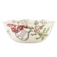 LenoxヴィンテージJubilee Serving Bowl Large &コンポートボウル