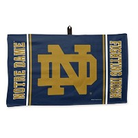 NCAA Notre Dame Fighting Irish 14 x 24インチゴルフワッフルタオルby WinCraft