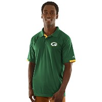 Green Bay Packers Majestic Mens Club Seatポロ XL グリーン