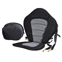 Kayak Seat Padding Deluxe Adjustable Safe Padded with Detachable Back Pack Practical by Canoe