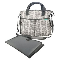 Diaper Bag by Bambini & Me - Stylish, Functional Baby Stroller Organizer - Adjustable Stroller...