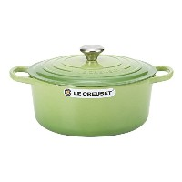 Le Creuset ルクルーゼ SIGNATURE シグニチャー Cocotte ronde 28cm ココットロンド Palm green パルムグリーン 両手鍋 新生活 [並行輸入品]