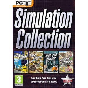Simulation Collection - Crane, Digger, Forklift and Demolition (PC DOWNLOAD) (輸入版) (UK Account...