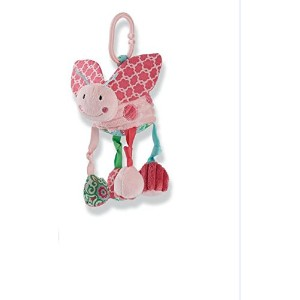 Mud Pie Lady Bug Stroller Toy, Polka Dot by Mud Pie