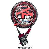 SURF MORE XM TANGLE FREE N2 REGULAR ANKLE CORE 6' RED/BLK RED/BLACK サーフモア リーシュコード