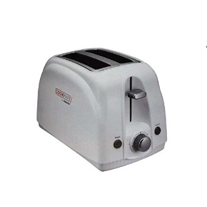 Cookmate by Viasonic 2 Slice Toaster, White [並行輸入品]