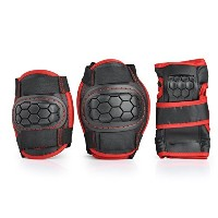 Smartodoors Children's Cycling Protective Gear With Elbow Knee Wrist Pad Support Set by Smartodoors