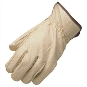 TekSupply DH4062 Pig Grain Leather Driving Glove - M