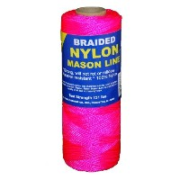T.W. Evans Cordage 12-516 Number 1 Braided Nylon Mason Line with 1000 ft. in Pink