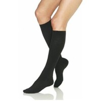 BI115133 - Bsn Jobst Knee-High Firm Opaque Compression Stockings Medium, Black by Jobst