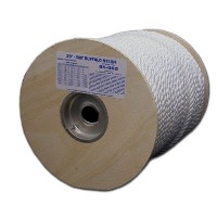 T.W. Evans Cordage 85-092 1 in. x 300 ft. Twisted Nylon Rope