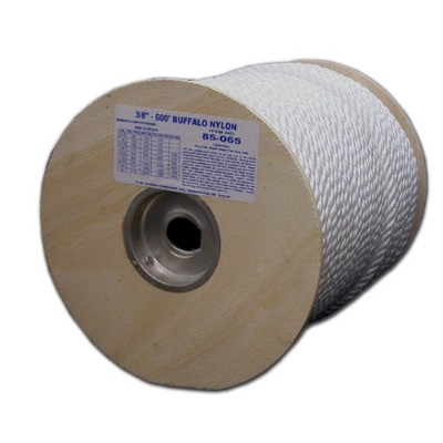 T.W. Evans Cordage 85-060 .3125 in. x 600 ft. Twisted Nylon Rope