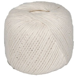 T.W. Evans Cordage 09-608 Number 60 Polished Beef Cotton Twine with 270 ft. Ball